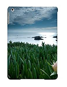 Mekcgbw4413TjgNK Tpu Phone Case With Fashionable Look For Ipad Air - Lotus Case For Christmas Day's Gift