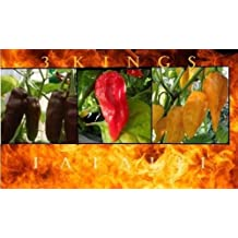 Combo 3 Fataliis-15 Seeds Each: RED + CHOCOLATE + ORANGE/YELLOW HOT Chili pepper