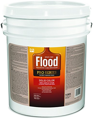 Flood Solid Color Stain - Flood Series FLD822-05 5G Solid Finish Deep Base