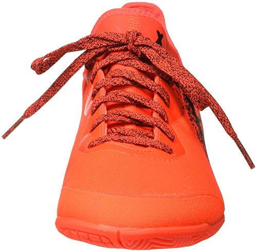 adidas X 16.3 Court, Botas de Fútbol para Hombre Rojo (Rojsol / Negbas / Rojsol)