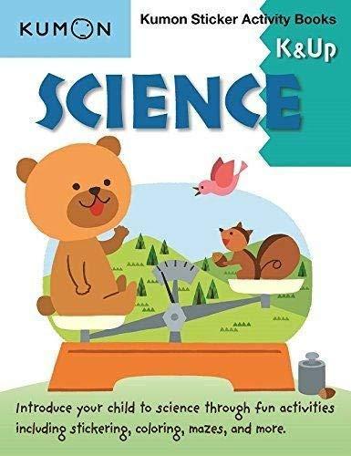 Science K & Up (Kumon Sticker Activity Books)