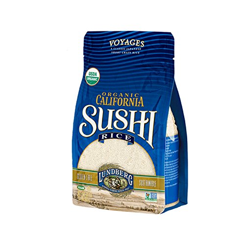 Lundberg Organic Sushi Rice, California White, 32 Ounce