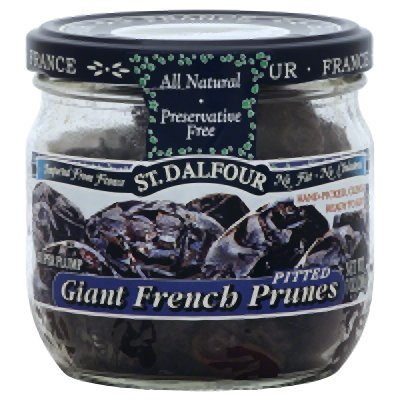 Charles Jacquin-St.Dalfour Prunes Pitted Giant Franch 7-Ounce (Pack of 6)