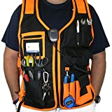 JORESTECH High Visibility Tool Vest with reflective strips