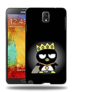 Case88 Designs Bad Badtz-Maru Collection King Bad Badtz-Maru Protective Snap-on Hard Back Case Cover for Samsung Galaxy Note 3