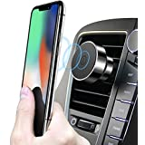 licheers Air Vent Car Phone Holder Magnetic Car Mount Holder Compatible with iPhonex/8/8 Plus/7/7Plus,Samsung S8/S9/S8 Plus(Black)