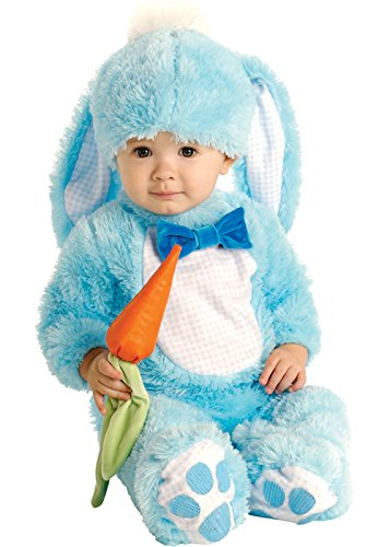 Blue Bunny Infant Costumes (Baby Size Lil' Blue Bunny Rabbit Costume Infants (6-12 months))