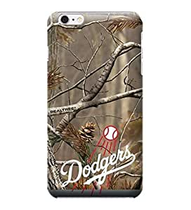 Diy Best Case iphone 6 plusd 5.5 case covers, MLB - Los Angeles Dodgers Realtree Camo - iPhone ScoKMnKK04B 6 case covers - High Quality PC case cover