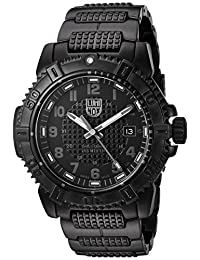 Luminox Men's 'Modern Mariner' Swiss Quartz and Stainless-Steel-Plated Automatic Watch, Color:Black (Model: 6252.BO)
