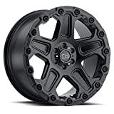 #5: BLACK RHINO Rim Cog 17X9.5 6x5.50 Offset 40 Matte Black (Qty of 1)