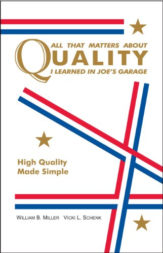All That Matters About Quality I Learned in Joes Garage: High Quality Made Simple
