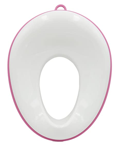 Fits Round and Oval Toilets for Kids Toddlers,Yellow Potty Training Toilet Seat for Kids Toddlers Boys Girls Toilet Trainer Ring with Handle with Backrest