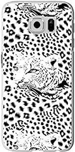 S6 Case Samsung Galaxy S6 Cover black and white creative leopard pattern sale on ZENG Case Kimberly Kurzendoerfer