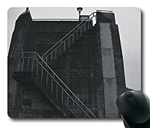 Dam Stairs Black And White Mouse Pad Desktop Laptop Mousepads Comfortable Office Mouse Pad Mat Cute Gaming Mouse Pad