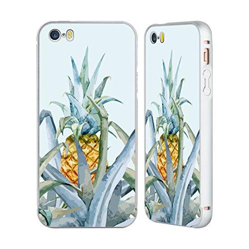 Officiel Mark Ashkenazi Classement Tropical Vie De Banane Argent Étui Coque Aluminium Bumper Slider pour Apple iPhone 5 / 5s / SE