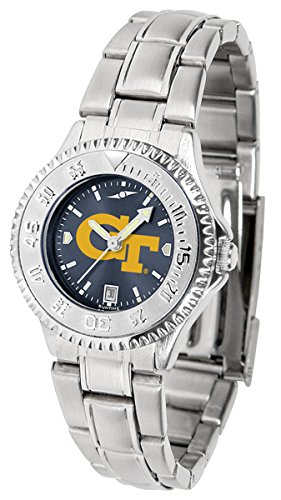 Georgia Tech Yellow Jackets Competitor Steel AnoChrome Women's Watch