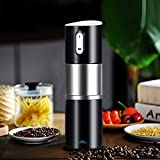Portable Coffee Grinder,Madoats Rechargeable Coffee Grinders Battery Operated Burr Grinder Automatic Coffee Maker for Home,Office,Cars,Camping,Travel