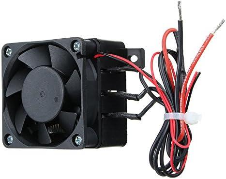 Tutoy 100W 12V 60X60M DC PTC Ventilador Calentador De Temperatura ...