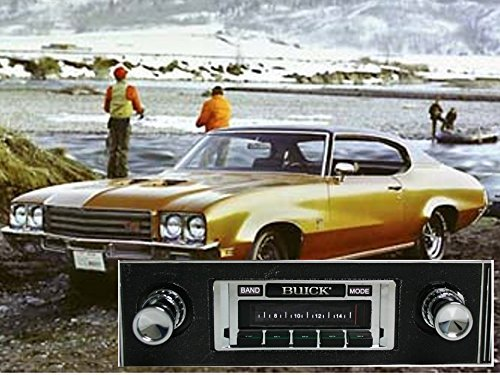 1968-1972 Buick Skylark USA-630 II High Power 300 watt AM FM Car Stereo/Radio with iPod Docking Cable Buick Skylark Radio