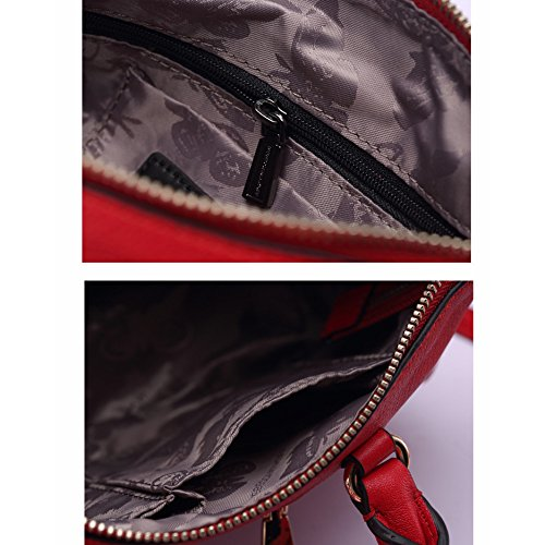 Wild Brown goldchain Fashion Leather Handbags Simple Bag SwnqzUztA