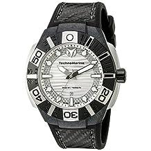 Technomarine Men's TM-514001 Black Reef Analog Display Swiss Quartz Black Watch
