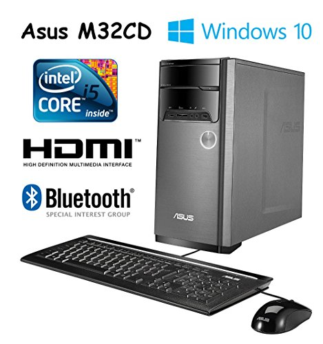 ASUS M32CD Desktop (Core i5, 8GB DDR4, 1TB, Windows 10) with Keyboard and Mouse