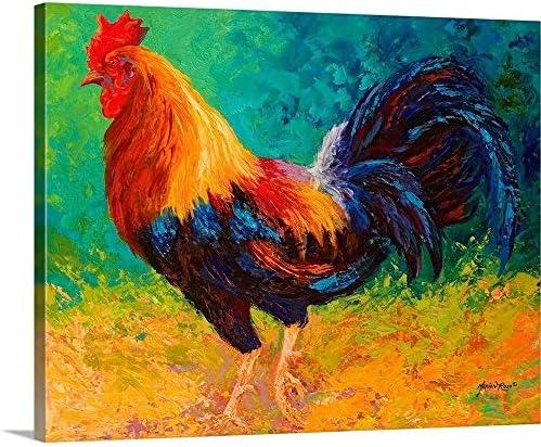 Mr Big Rooster Canvas Wall Art Print