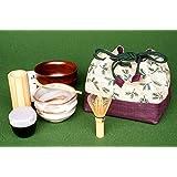 アウトドアでも抹茶が楽しめる携帯用茶道具セット 「お茶ごころ」茶道具セットM