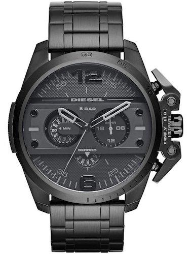 Diesel Hombre Reloj de pulsera ironside analógico de cuarzo Acero inoxidable dz4362