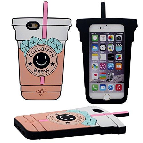 Original Kreativ 3D Eine Tasse kaltes Getränk Gestalten Weich Silikon Schutzhülle Handy Hülle Case für Apple iPhone 6 / 6S 4.7 inch