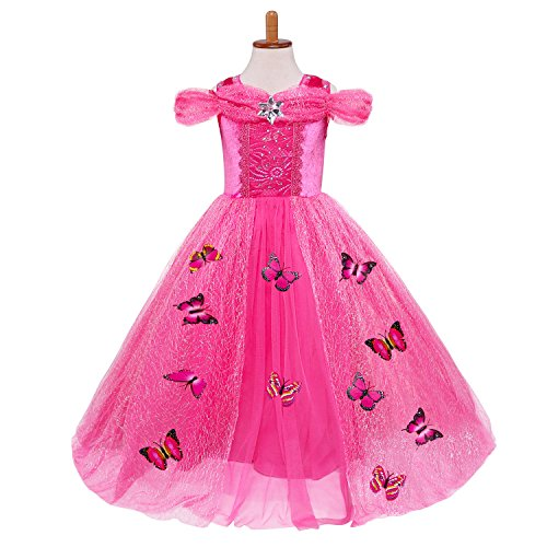 Fancy Dress Party Costumes Ideas (Kakawayi Girls Fancy Princess Dress Snow Party Dress)