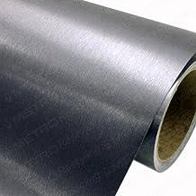 3M Scotchprint Wrap Film 1080 Series Brushed Steel BR-201 60x12 by 3M