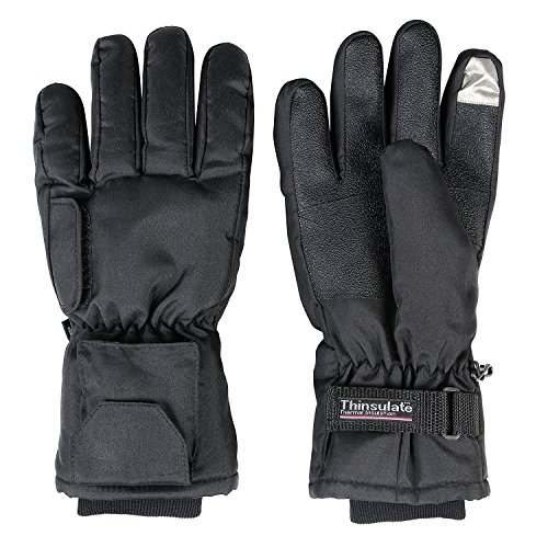 Basic Mittens (Warmawear Dual Fuel Basic Cold Weather Battery Heated Gloves Mittens - Large (L))