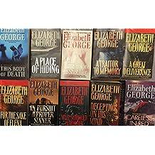 Elizabeth George Mystery Novel Collection 9 Book Set