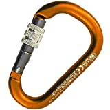 KONG USA Kong HMS NAPIK Screw Carabiner Orange