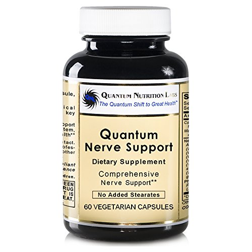 Quantum Nerve Support, 60 veg caps - Comprehensive Nerve Support Formula (Support Formula Herbal Caps Veg)
