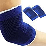 Freedi Elbow Sleeve Brace Sports Protective Support Band for Basketball Fitness,1 Pair