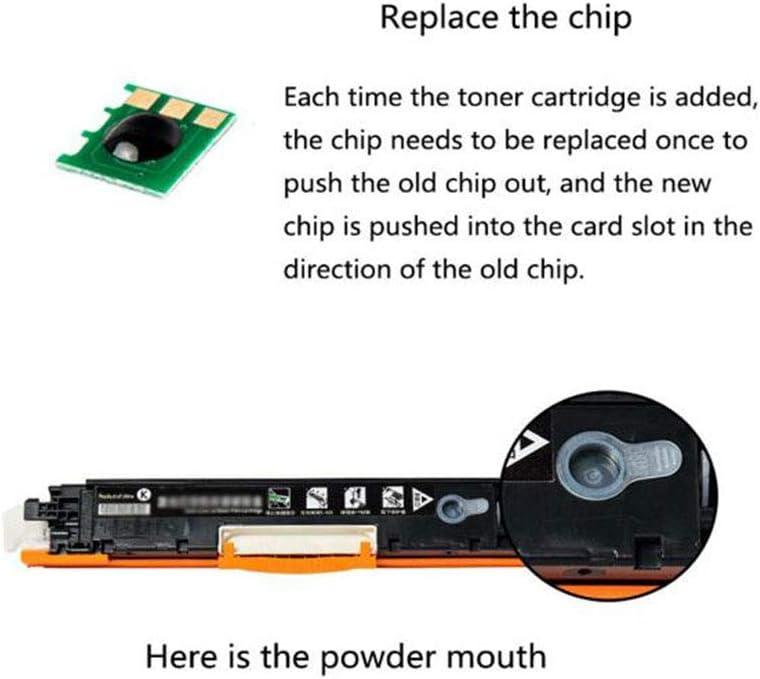 Toner CartridgeCompatible with hp 651A Toner Cartridge for HP 700 //M775dn Color Toner Cartridge CE340A CE341A CE342A CE343A,4colors Black 135000 Pages Color 16000 Pages-Yellow