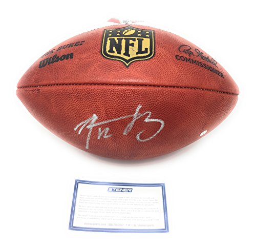 (Aaron Rodgers Green Bay Packers Signed Autograph NFL Authentic Duke NFL Football Steiner Sports Certified)