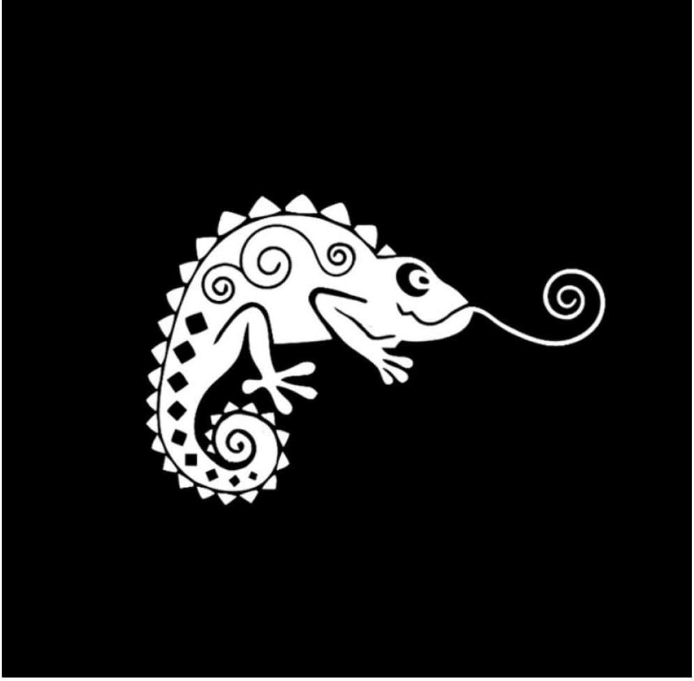 12 * 8.1 cm moda camaleón escalada lagarto decoración coche ...