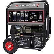 Milbank MPG100001E Genforce Portable Generator with Electric Start, 10,000-watt