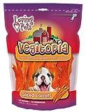 Loving Pets Vegitopia Sliced Carrots Dog Treats, 5-Ounces, My Pet Supplies
