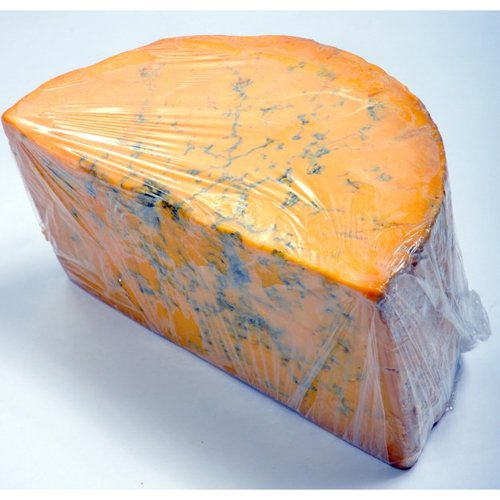 Shropshire Blue Cheese (Whole Wheel) Approximately 8 Lbs by Gourmet555