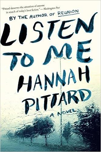 Listen to Me: Hannah Pittard: 9780544947184: Amazon com: Books