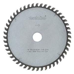 Metabo dsd9250 - Hoja sierra metal duro hw-ct precisión 220x30 36wz