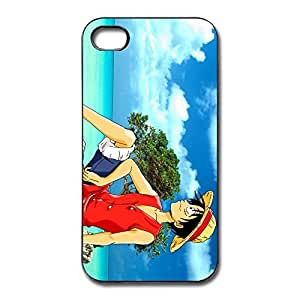 One Piece Luffy Thin Fit Case Cover For IPhone 4/4s - Funny Cover wangjiang maoyi