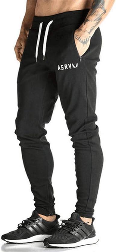 Lfeu Pantalones Deportivos Para Hombre Pantalones Deportivos Para Correr Pantalones De Chandal Ajustados Pantalones Negros De Entrenamiento Amazon Es Ropa Y Accesorios