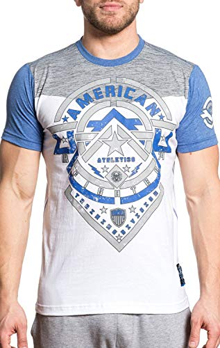 American Fighter Darnell Short Sleeve Athletic Graphic Sport T-shirt by Affliction XL