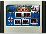 Chicago Cubs Scoreboard Desk & Alarm Clock - Licensed MLB Baseball Gift