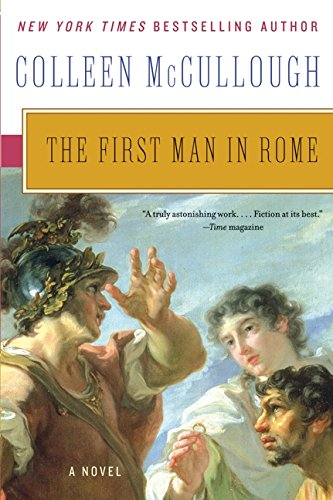 Book cover for The First Man in Rome